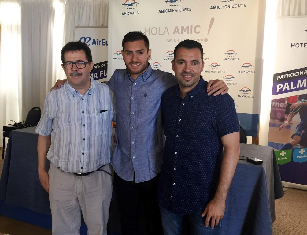 Miquel Jaume, Bruno Taffy y José Tirado (Copy)