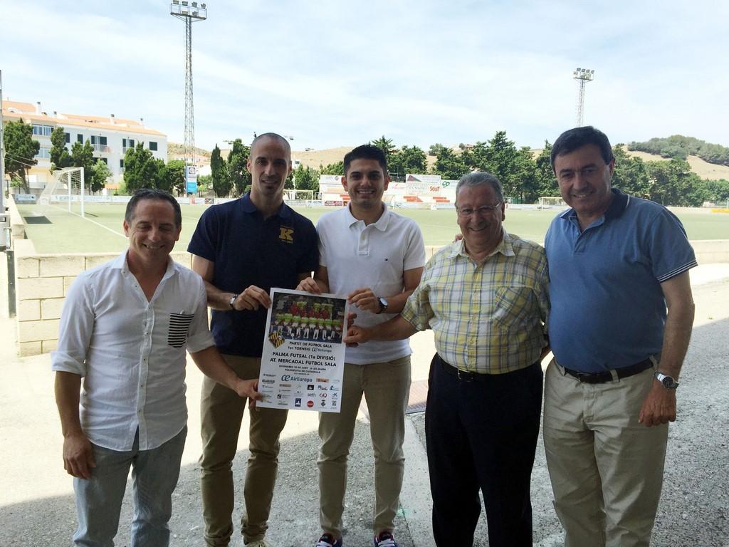 Vadillo y Martín, en la presentación del torneo de Menorca (Copy)