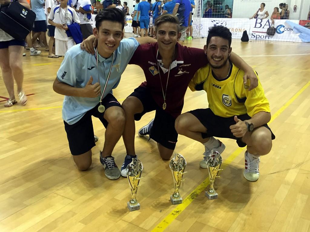 Pablo Gutiérrez, Tomeu Torrens y Joaki, máximos goleadores y mejor jugador cadete (Copiar)