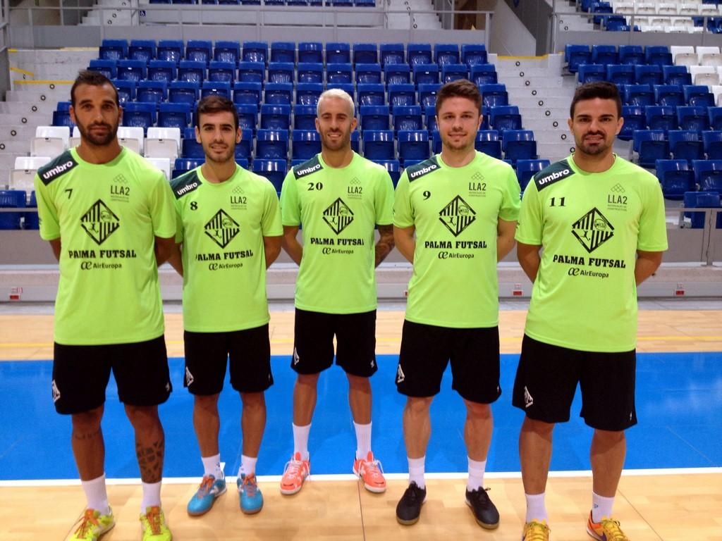 Carlitos, Eloy, Suazo, Maico y Fávero en Son Moix 1 (Copy)