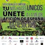 Cartel campaña de socios del Palma Futsal