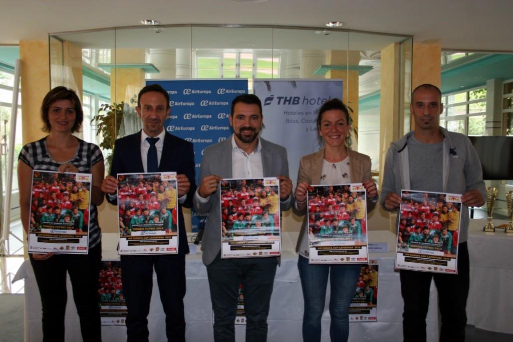 Portells, Fernández, Tirado, Cursach y Vadillo, en la presentación del torneo 2 [1280x768]