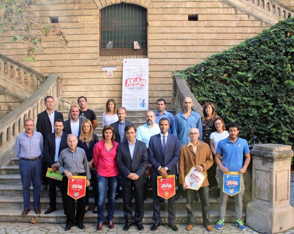 Convenio de los clubes de élite de Mallorca con el Consell (3)