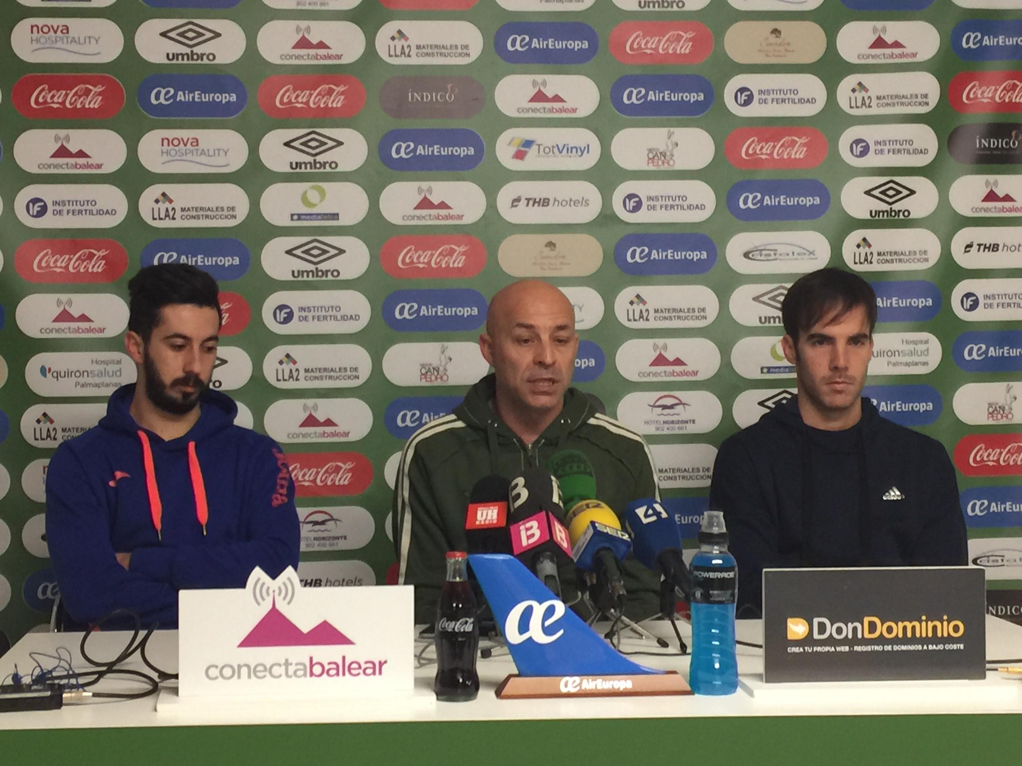 Joselito, Juanito y Carlos Barrón en la rueda de prensa de este jueves (2)