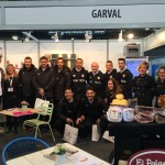 La plantilla del Palma Futsal en la feria Horeca (2)
