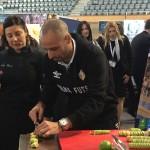 Vadillo y Vicky Pulgarín elaboran la tapa del Palma Futsal (2)