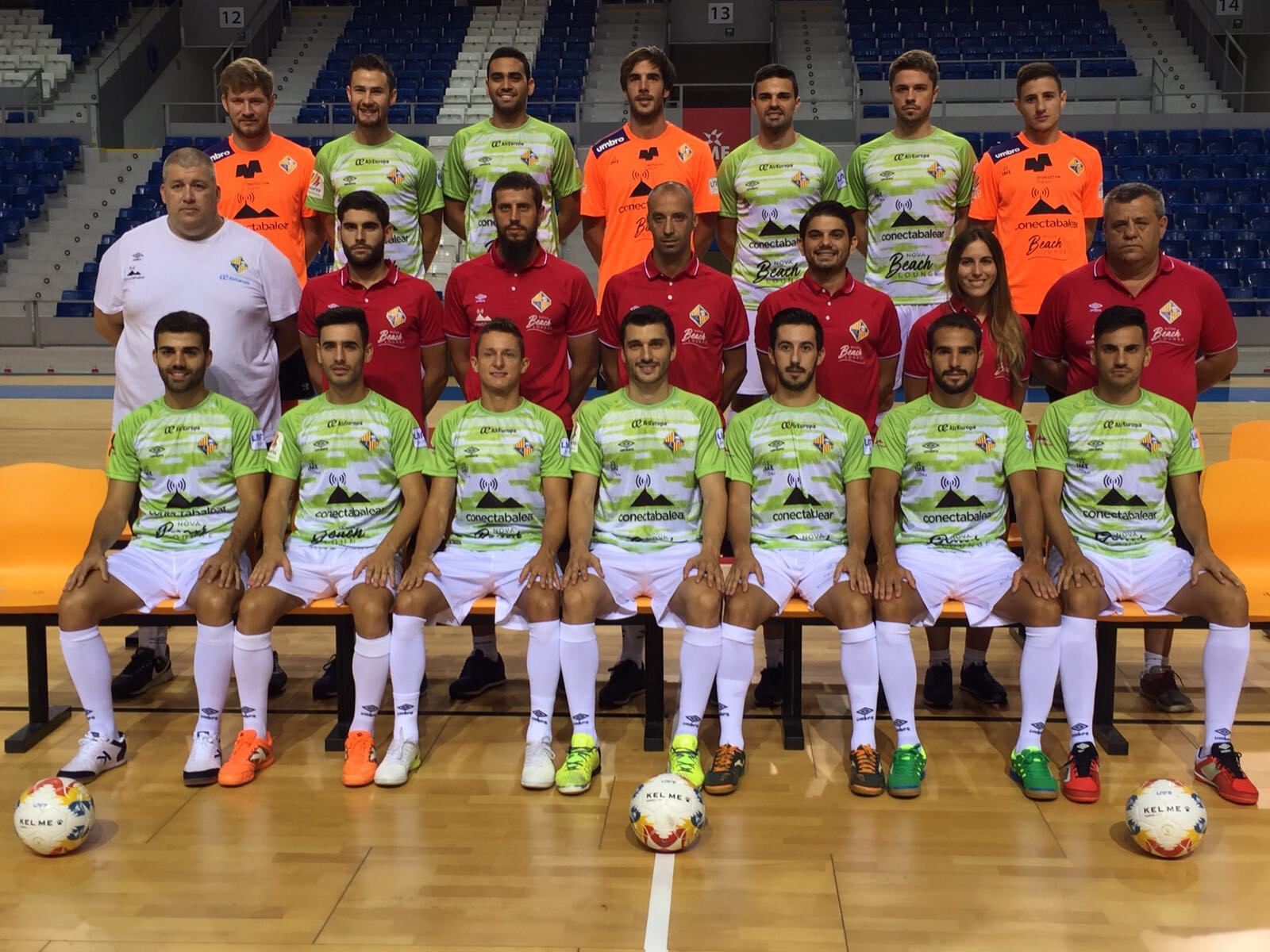 Foto oficial del Palma Futsal 17-18