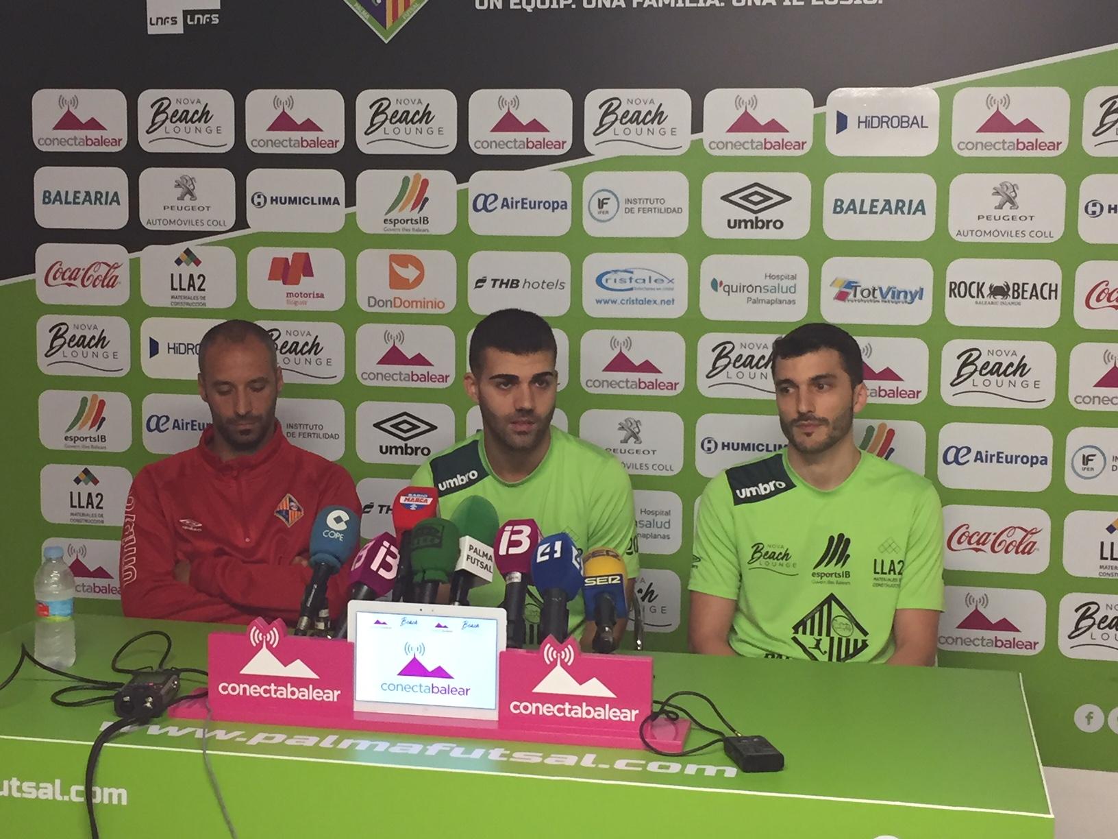 David Pazos en la rueda de prensa previa al partido ante el Inter