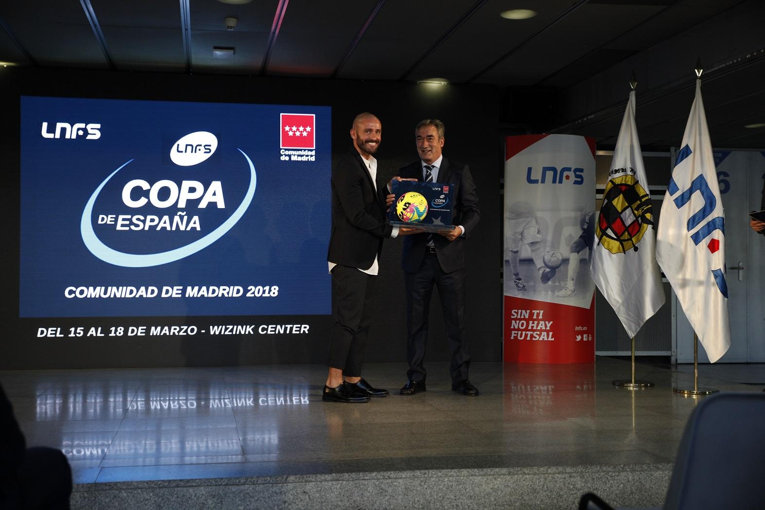 Javier Lozano presentó la sede de la Copa de España