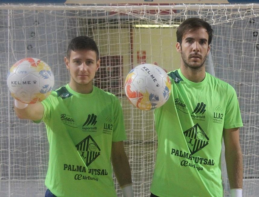 Nico Sarmiento y Carlos Barrón en Son Moix 11111