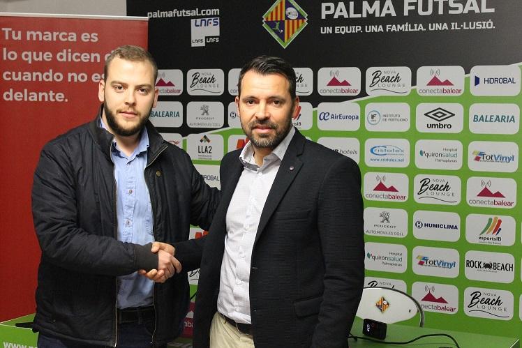 web Jaume Pujol y José Tirado presentaron el acuerdo de patrocinio