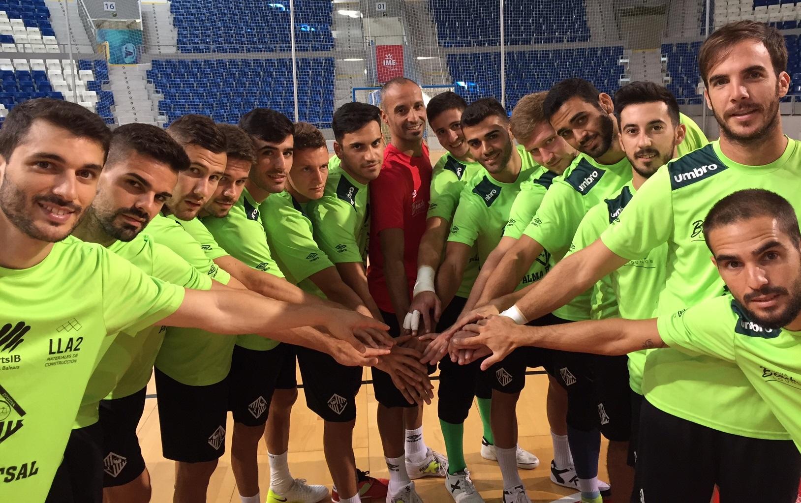 El Palma Futsal posa en Son Moix 12222
