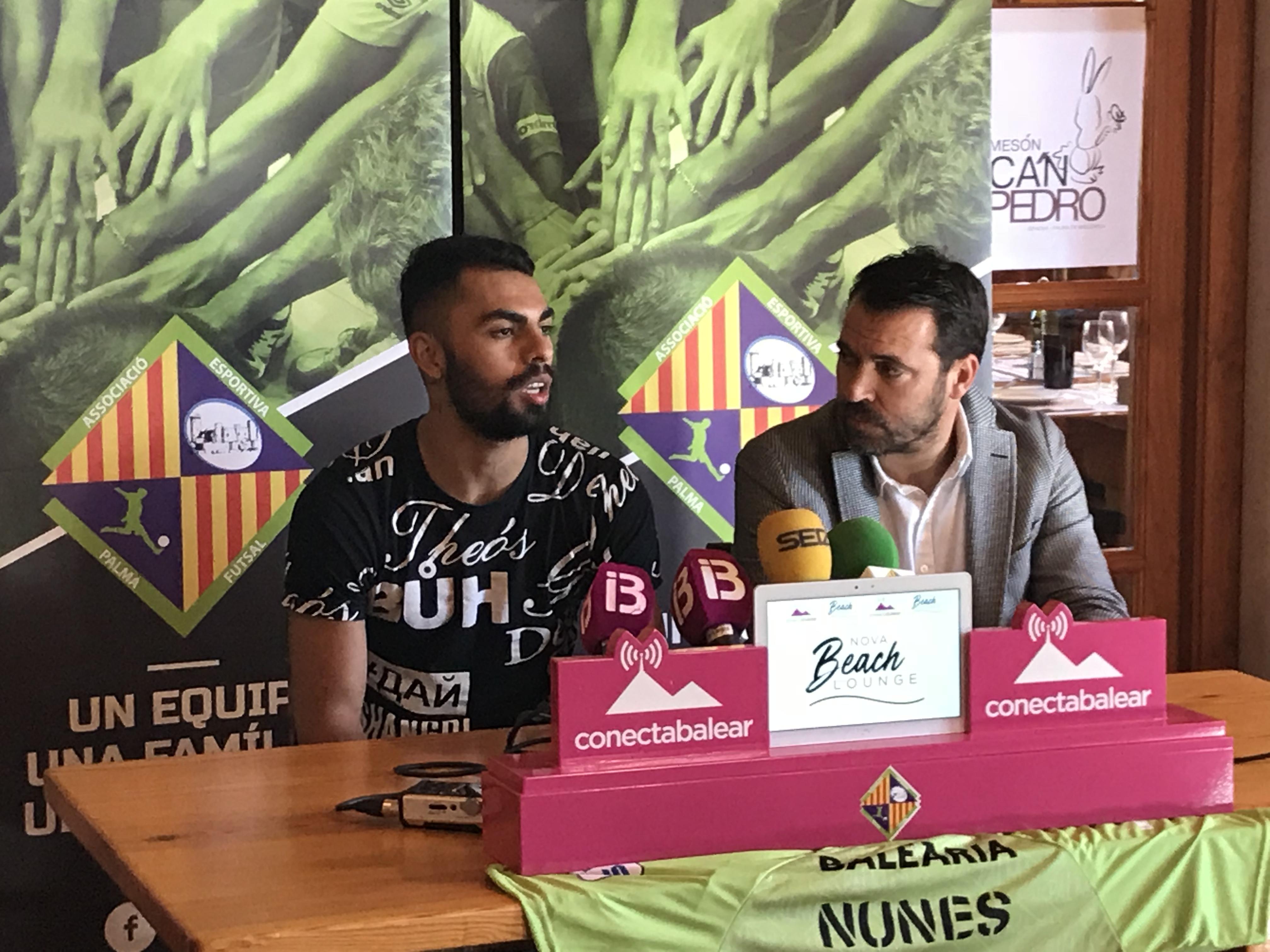 Rueda de prensa de presentación de Diego Nunes (1)