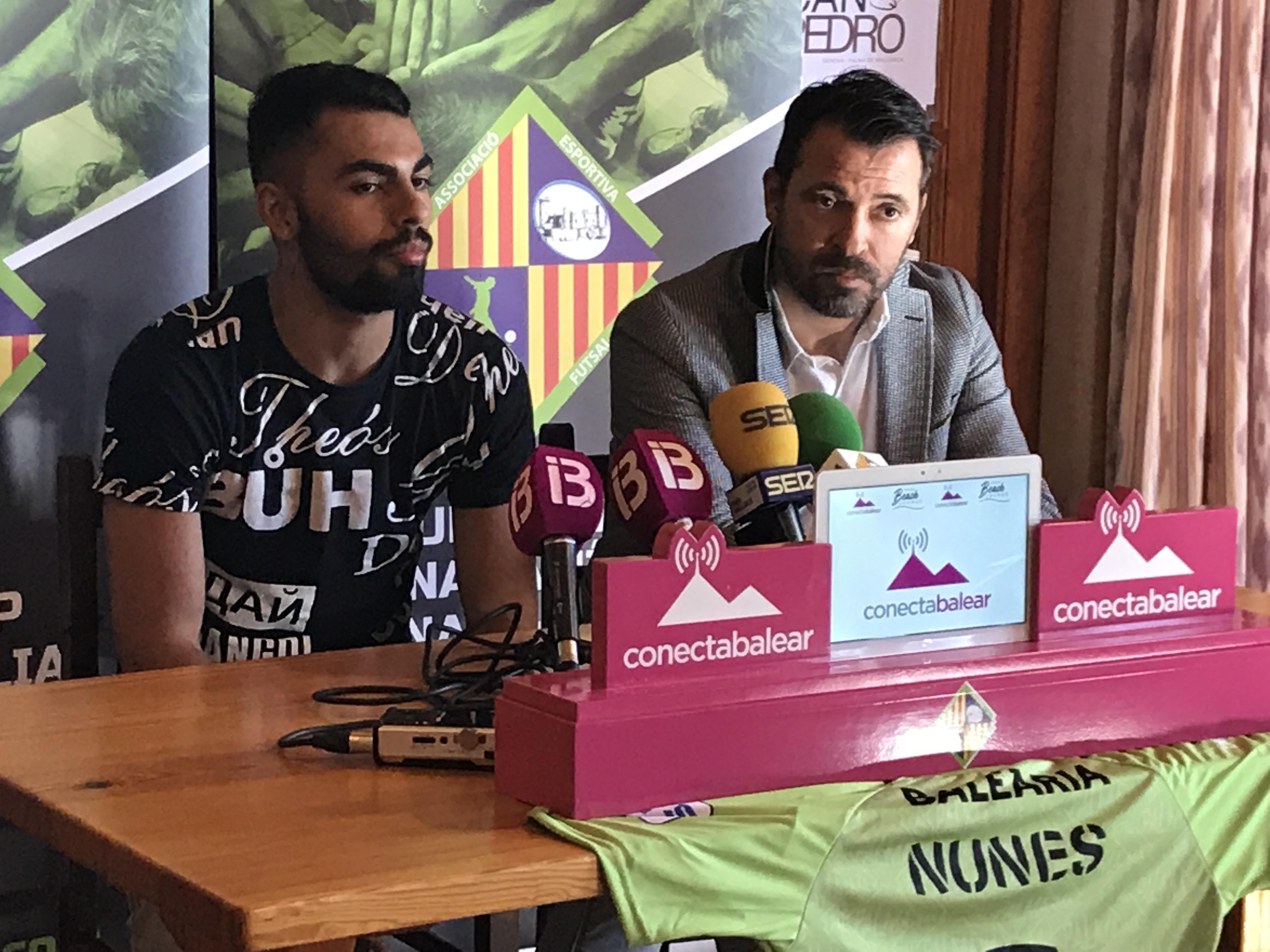 Rueda de prensa de presentación de Diego Nunes (2)