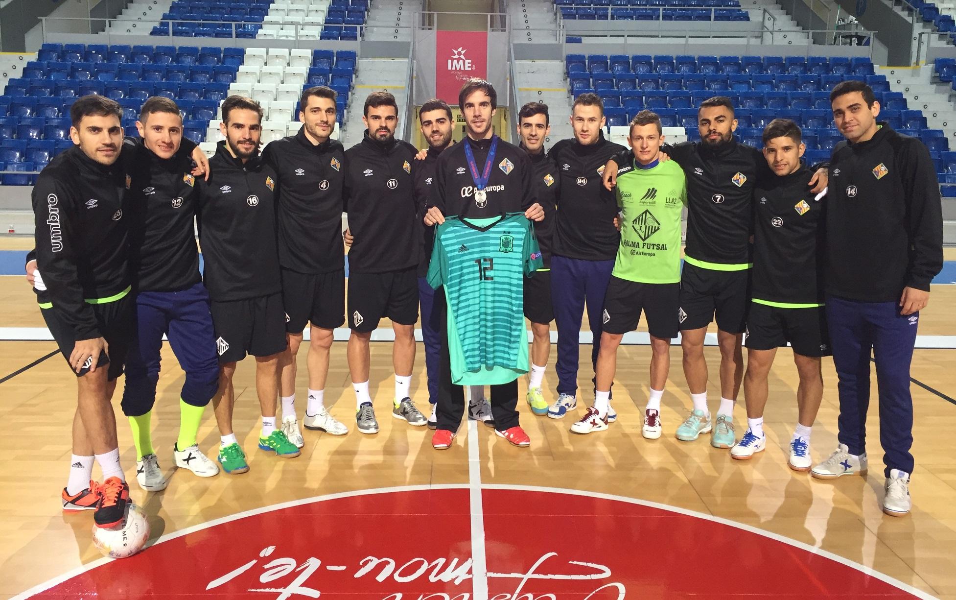 Carlos Barrón regresó a los entrenamientos tras la Eurocopa web