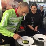 Vadillo, Vicky pulgarín y la tapa Palma Futsal