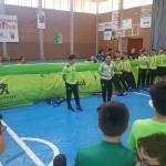 El Palma Futsal jugó con los niños de Capdepera (1) (Copiar)