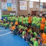 El Palma Futsal jugó con los niños de Capdepera (3) (Copiar)