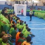 El Palma Futsal jugó con los niños de Capdepera (7) (Copiar)