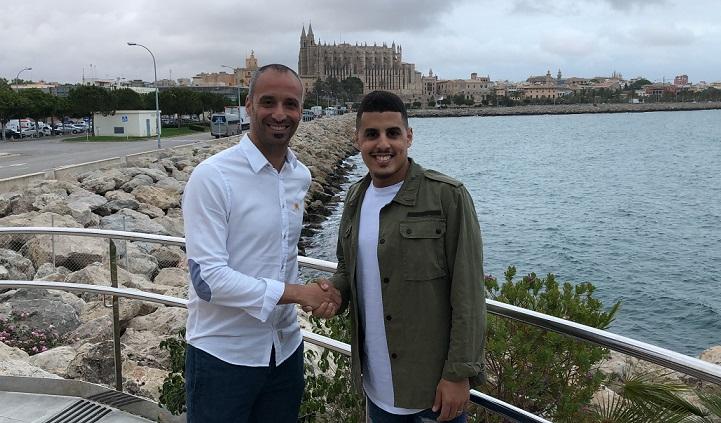 Hamza cenó con Vadillo a su llegada a Palma web