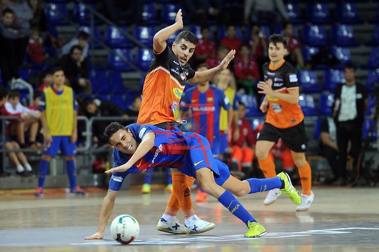 FC Barcelona Lassa vs Aspil Vidal Ribera Navarra: 7-1.