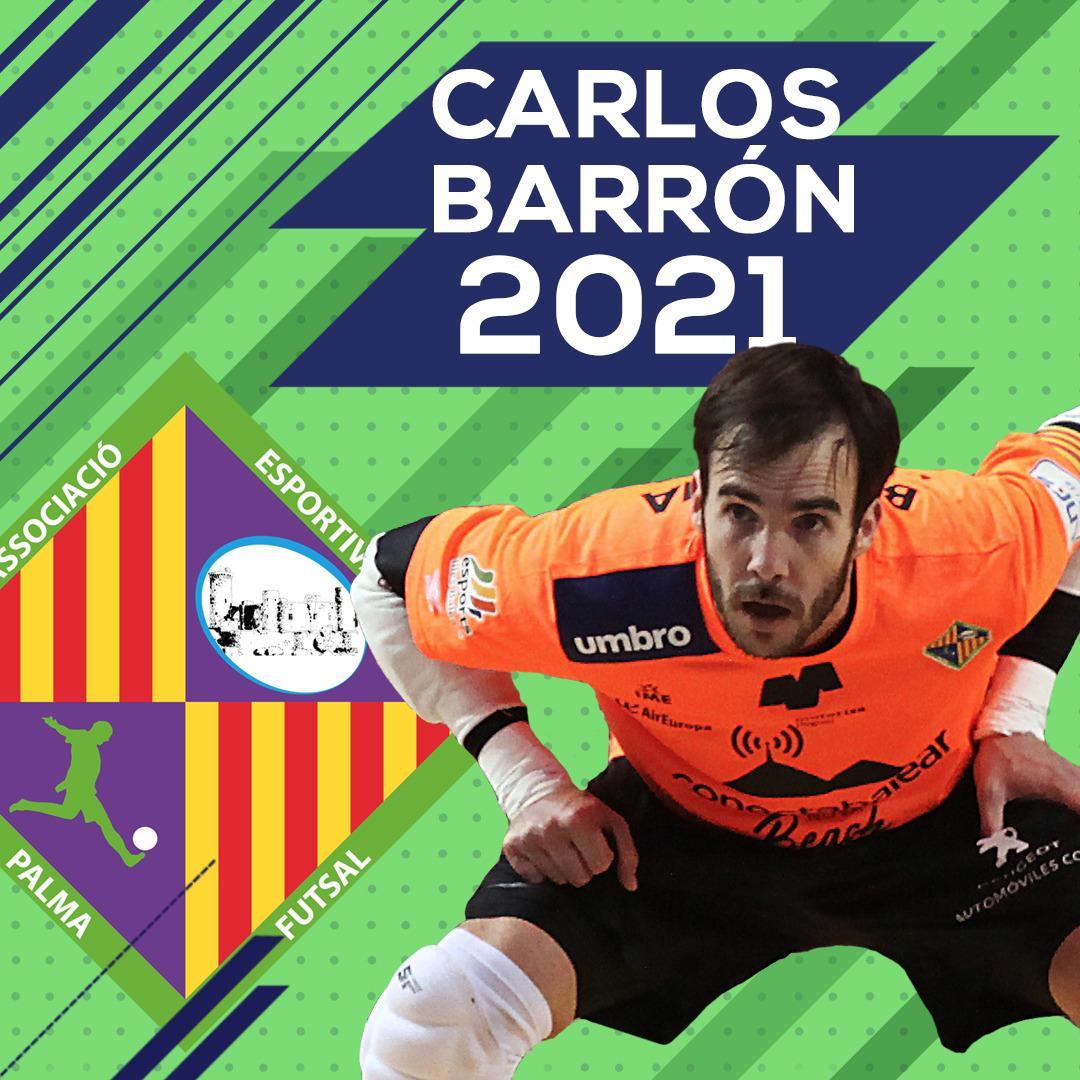 Carlos Barrón renueva hasta 2021