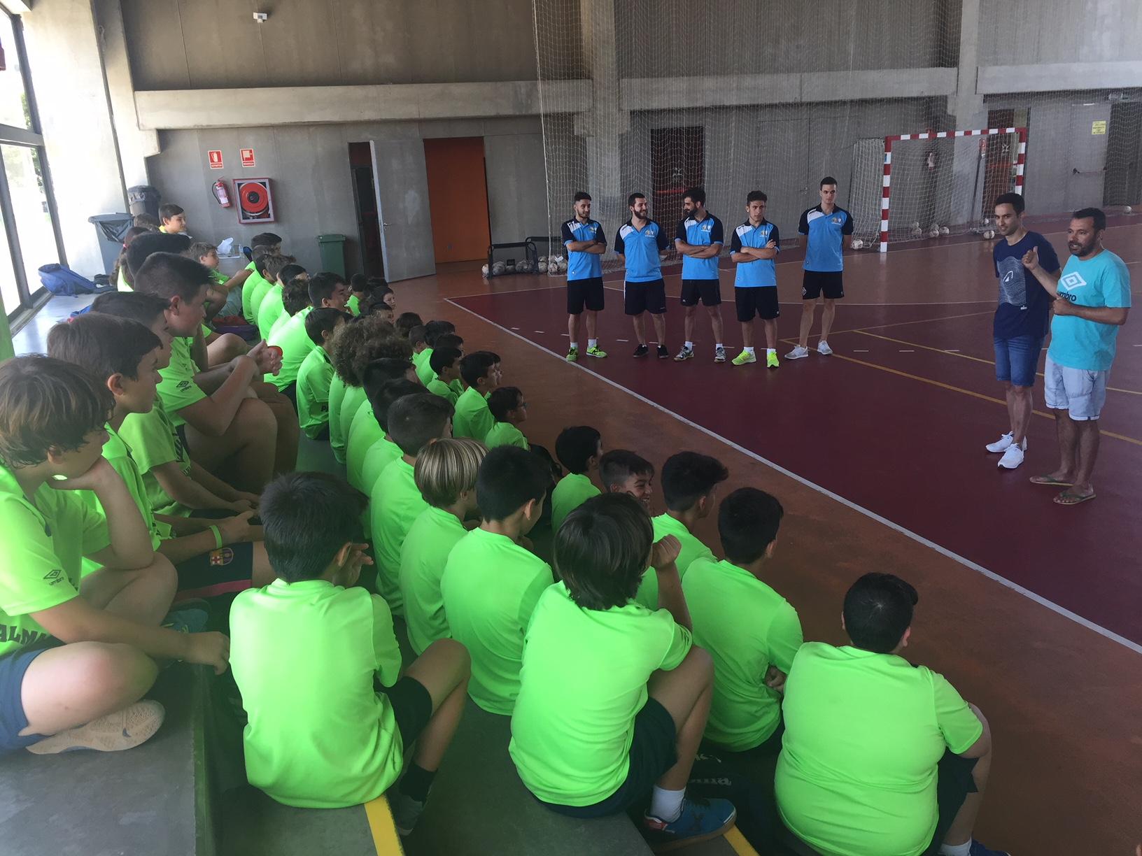 Joao visitó el campus de Palma  (2)