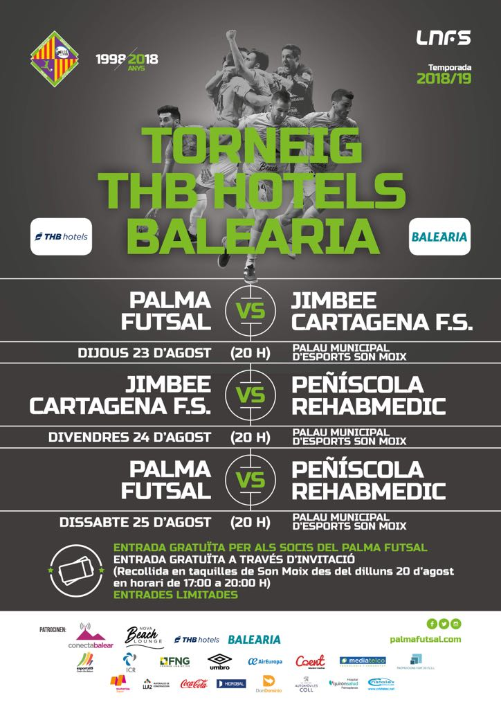 Cartel Torneo THB Hotels - Baleària