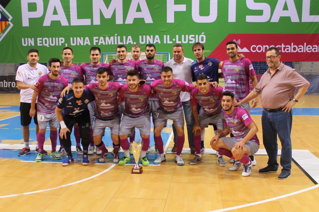 El Palma Futsal ganó el Torneo THB Hotels - Baleària