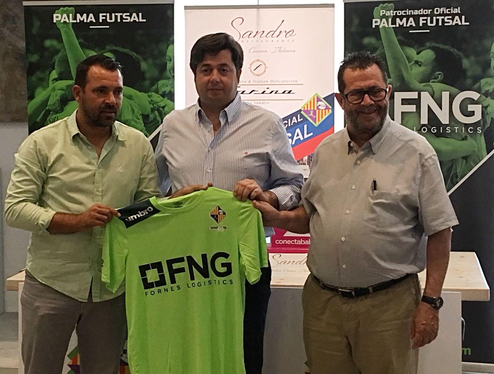 FNG se incorpora como patrocinador del Palma Futsal (2)