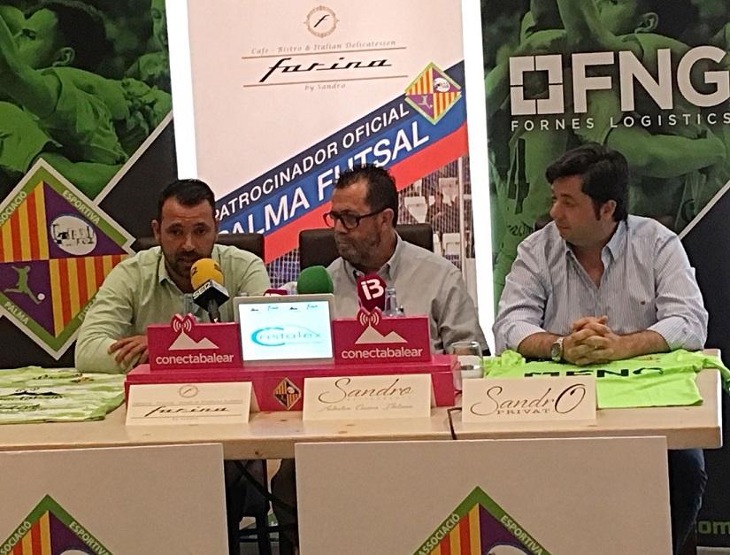 FNG se incorpora como patrocinador del Palma Futsal (3)