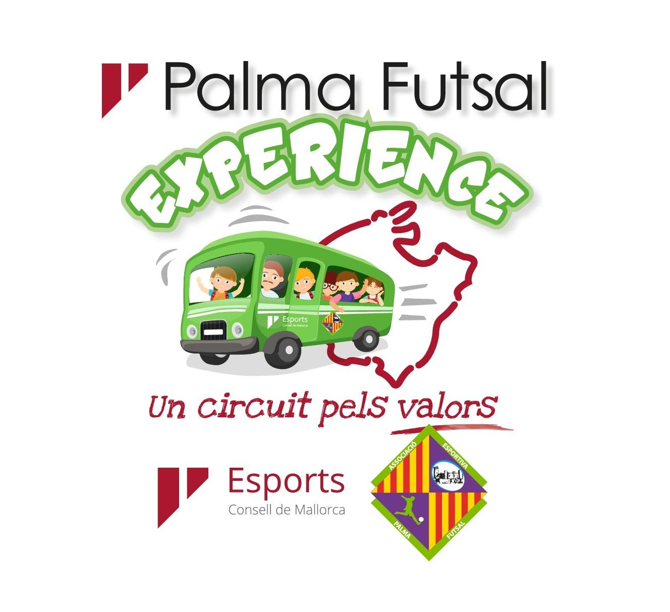 Logo del programa Palma FutSal Experience 2