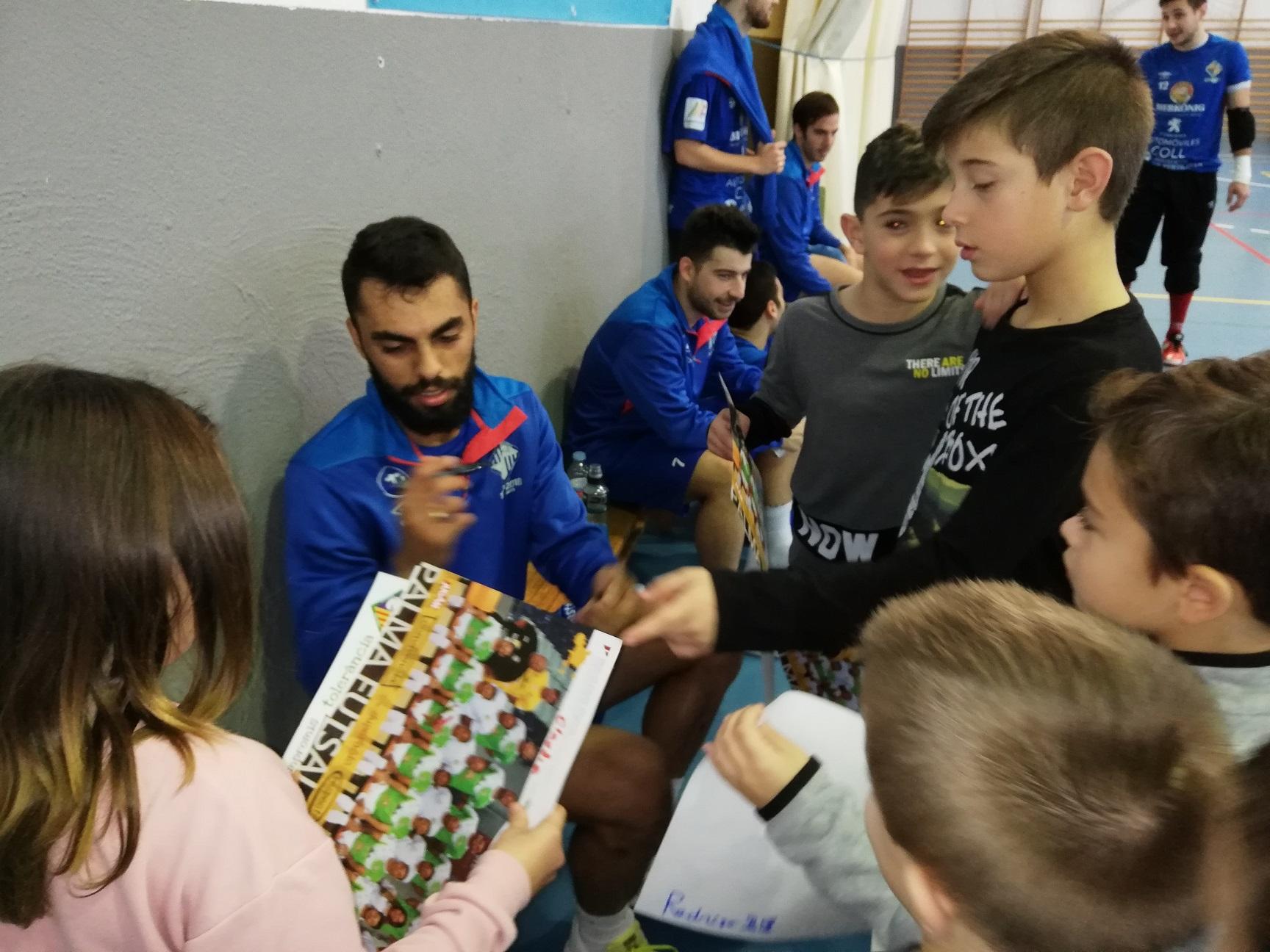 El Palma Futsal se entrenó este domingo en Son Ferrer (2)